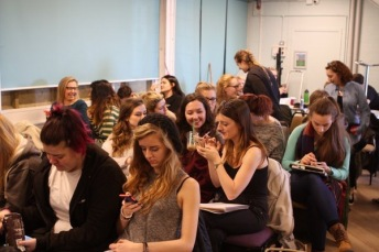 The musical theatre class at University of Chichester